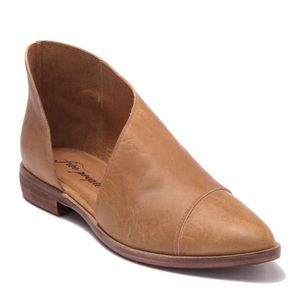 FreePeople Royale Pointed Toe d'Orsay Leather Flat